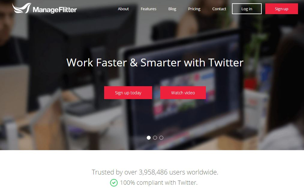manageflitter for twitter