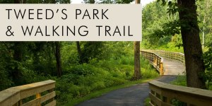 Tweed's park and walking trail