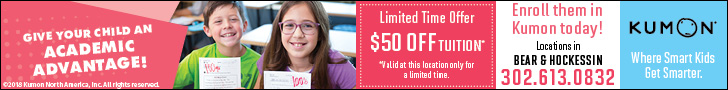 Kumon $50 off tuition