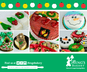 Bing's Bakery Holiday Treats