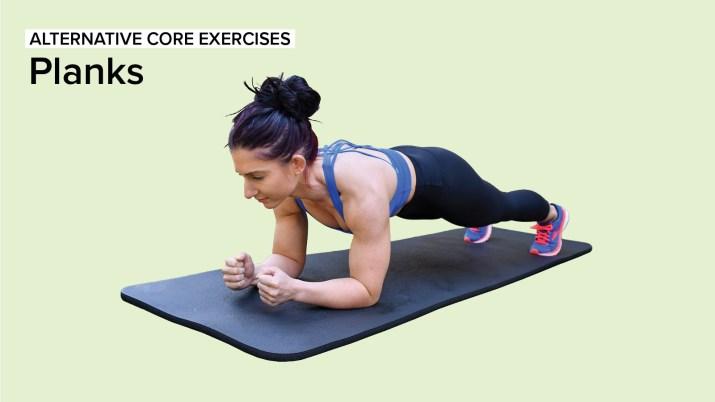 Alternative Core Exercises: Planks