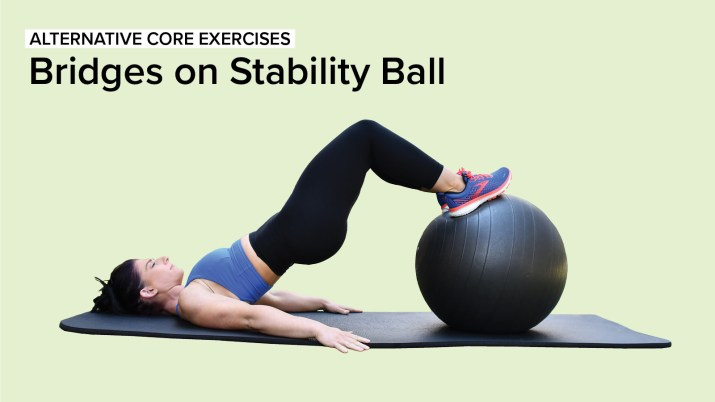 Alternative Core Exercises: Bridges on Stability Ball