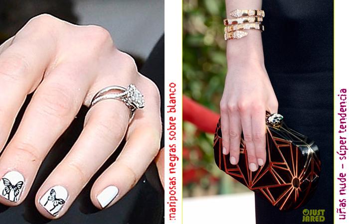 nail art trends sag awards 2013