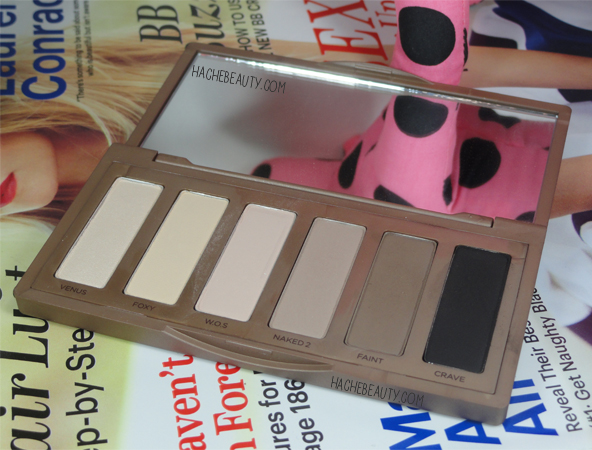 urban decay naked basics argentina