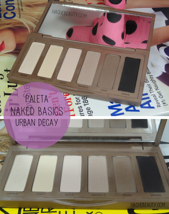 paleta naked basics urban decay argentina
