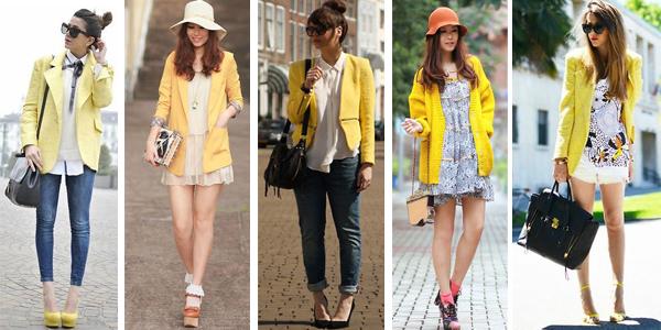 como usar amarillo verano tendencia argentina 2