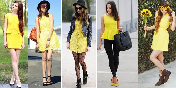como usar amarillo verano tendencia argentina 6