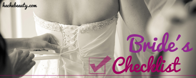 slider bride checklist hache beauty
