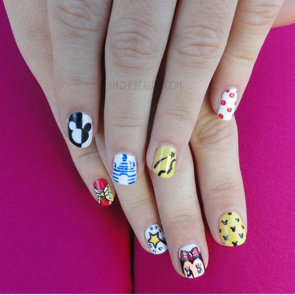 nails uñas disney penny nail hache beauty 2