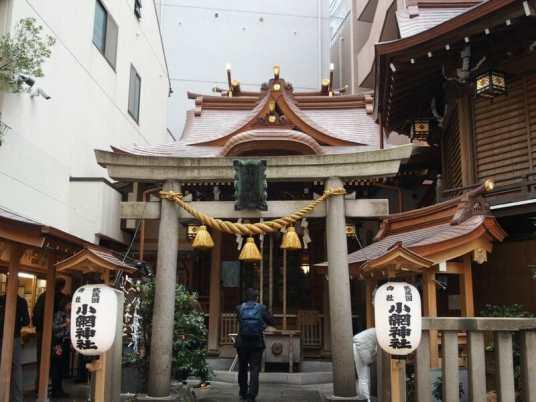 日本橋の小網神社はご祈祷は2か月待ちです。