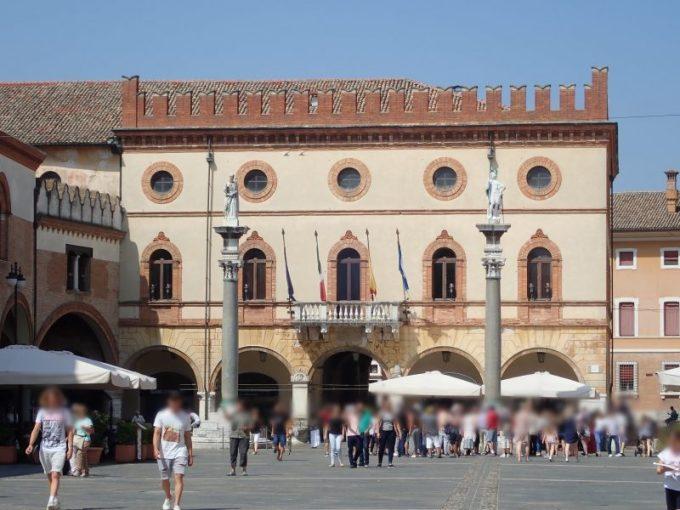 ラヴェンナのポポロ広場