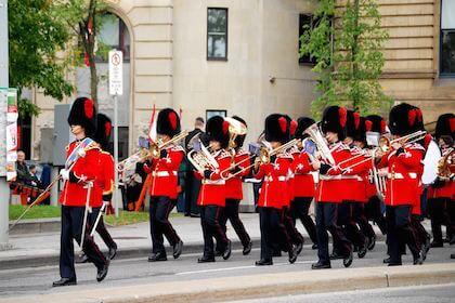 カナダの兵隊