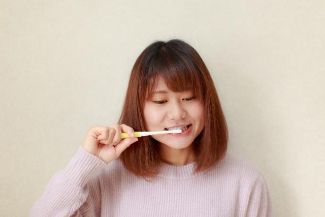 歯みがきで知覚過敏予防