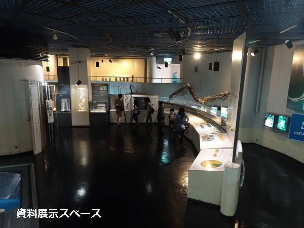 屋内資料展示スペース