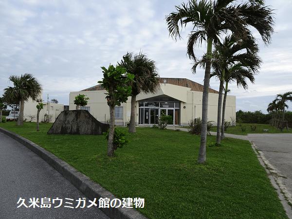 久米島ウミガメ館の建物