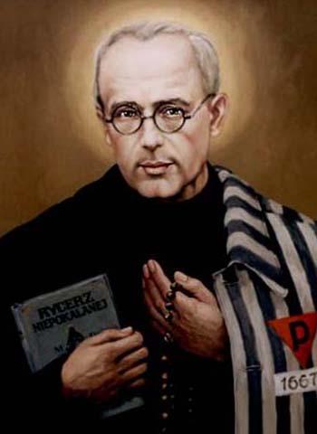 www.haciadios.com San Maximiliano María Kolbe