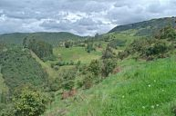 Views hiking in Cuenca Ecuador