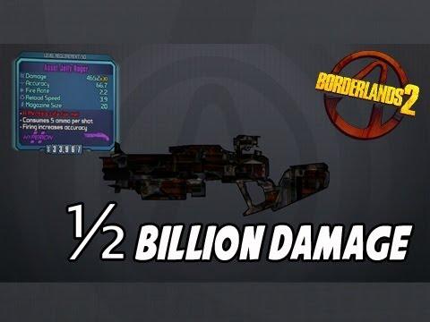 Borderlands 2 Half 1000000000 Damage Shotgun HACK CHEAT DOWNLOAD