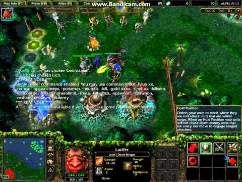 Cheats On LAN Game In WarCraft IIIFrozen Throne HACK