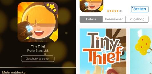 12 Tage Geschenke: Tag 02: Tiny Thief kostenlos in Österreich, Hack4Life, Review, Test, Download, kostenlos, Fabian Geissler
