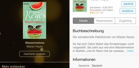iTunes 12 Tage Geschenke, Review, kostenlos, iBook, Wassermelone, Anleitung, download, direkt, mac, iphone, hack4life, fabian geissler