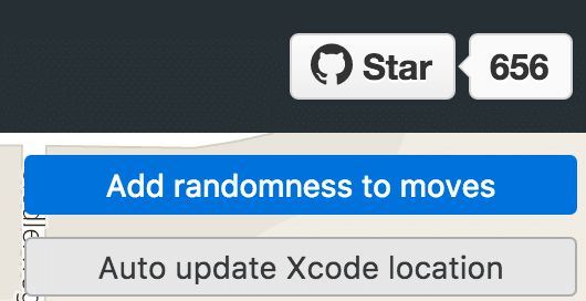 Auto update Xcode location anklicken