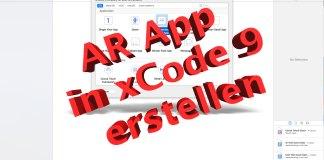 Augmented Reality App in xCode 9 erstellen, Hack4Life, Anleitung, Erklärung