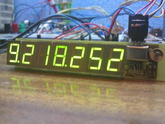 ATtiny2313 Frequency Meter Measures 1Hz-10MHz
