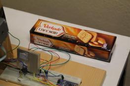 It laser engraves cookies.