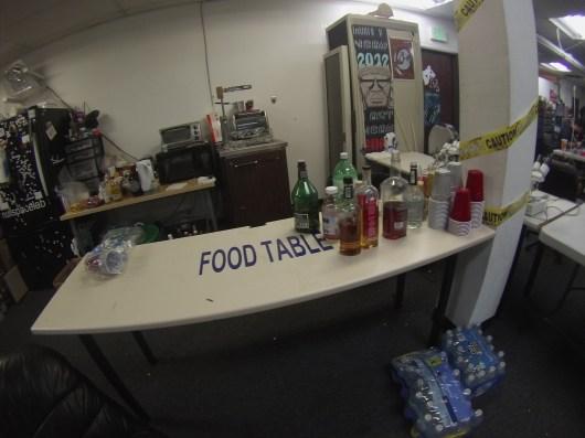 """""""Food"""" Table"""