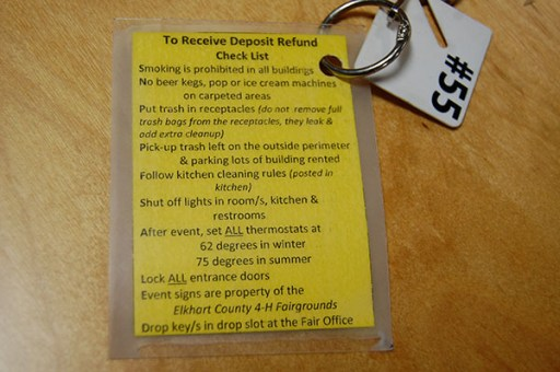 Rules for the venue. No beer kegs *on the carpet*.