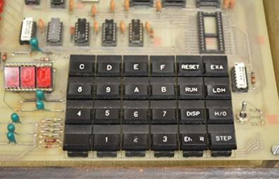 MST-80B Trainer keypad