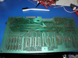 Rare Commodore C-364 Bottom PCB Jumpers partial due to make Magic Voice desktop app speak.
