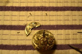 Taking apart a Waltham Riverside Pocket Watch