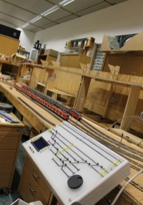 Train layout controller