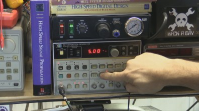 Demonstrating the HP3314A Sweep Function Generator