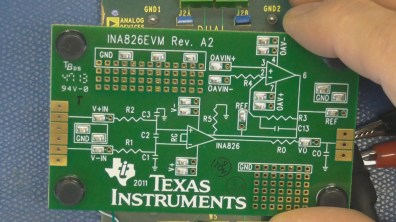 Instrumentation Amp Evaluation TI