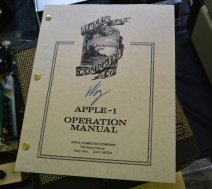 Autographed by Woz