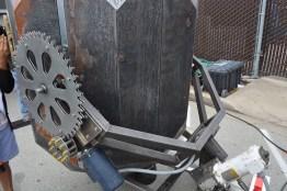 Bracket Holding Robotic House