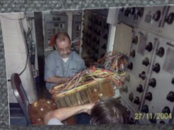 Many of the subsystems beyond just the radio room were repaired by the amateur radio group.