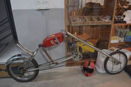 Chopper inspired Bicycle, built by school kids