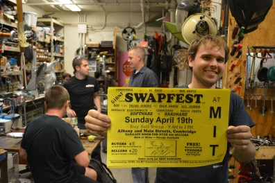 Funds are generated by Swapfest