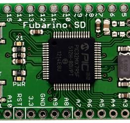 Fubarino SD uses PIC32