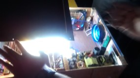 DIY Projector, LED on