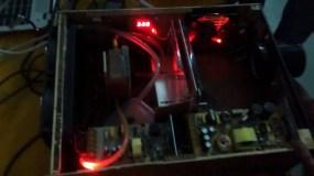 DIY Projector, LED off
