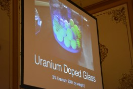 Uranium Doped Glass