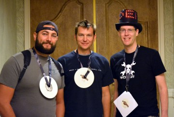 @RobertPlacencia and Jason were the first at DEF CON 23 to hack