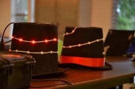 Blinky hats