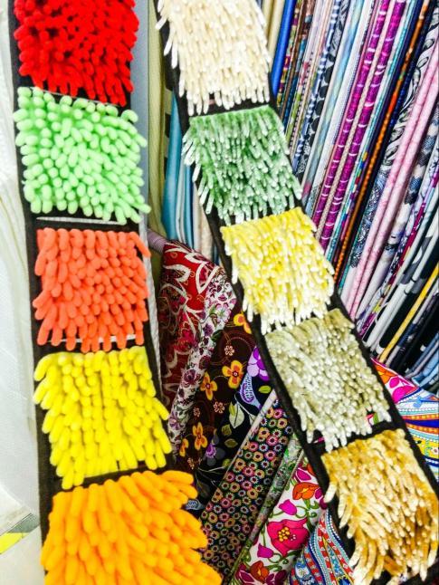 These unique textiles are for bath mats
