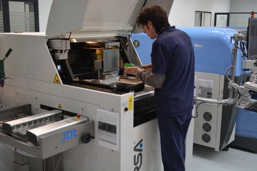 Getting solder paste machine ready